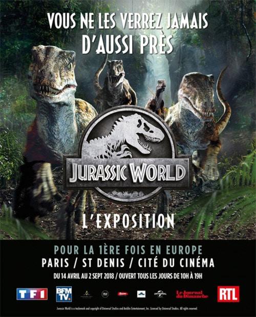 dinosaure paris 2018