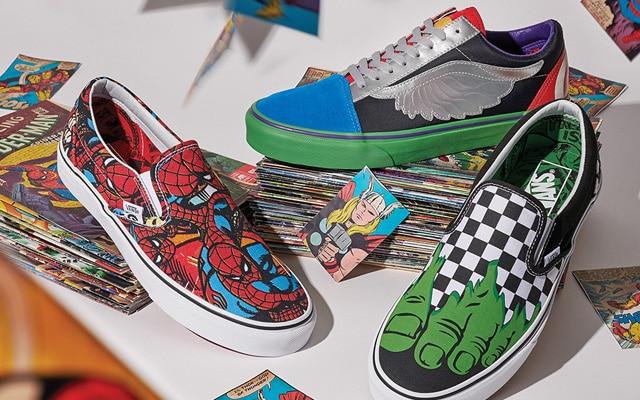 chaussures vans marvel